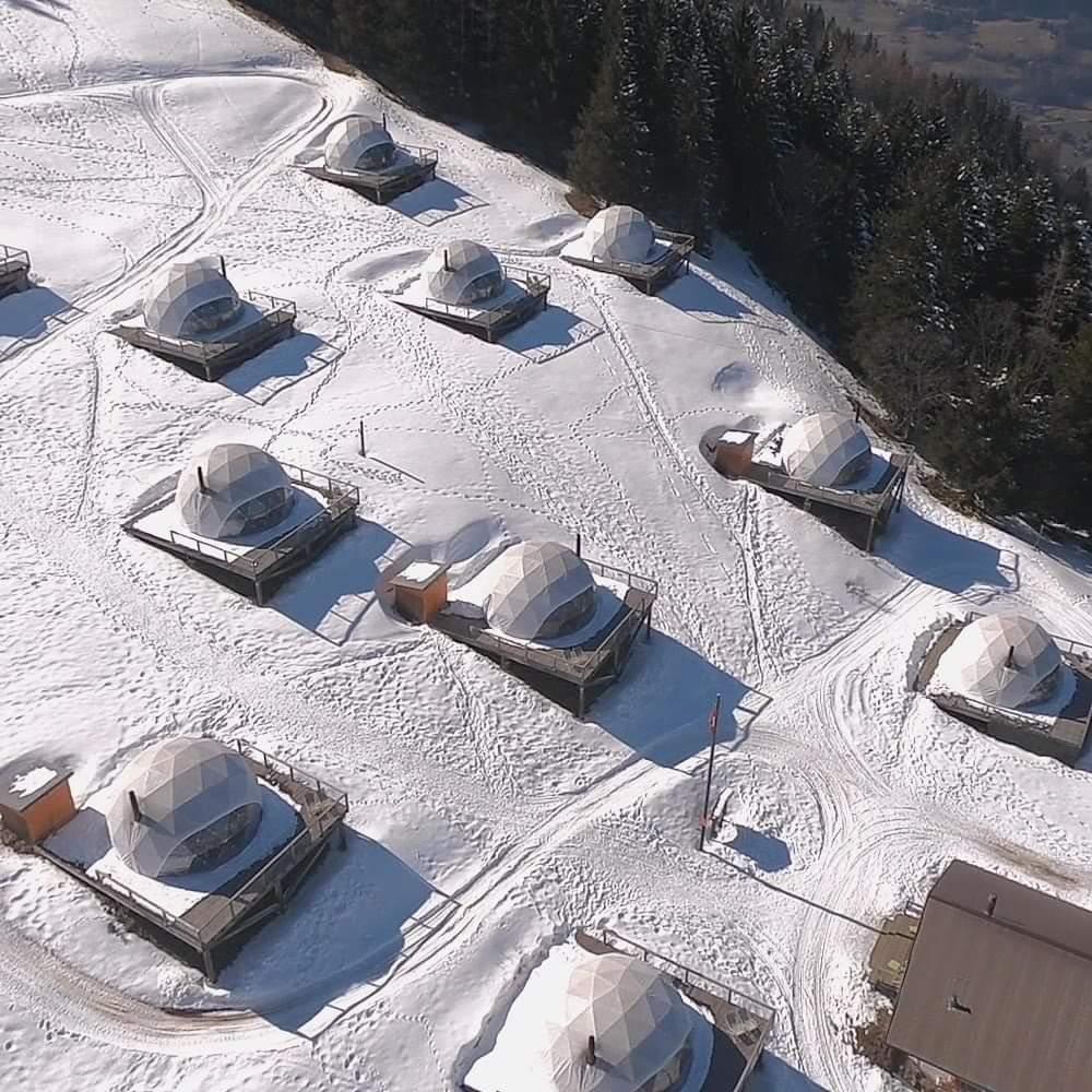 球形帐篷客酒店 视频资料