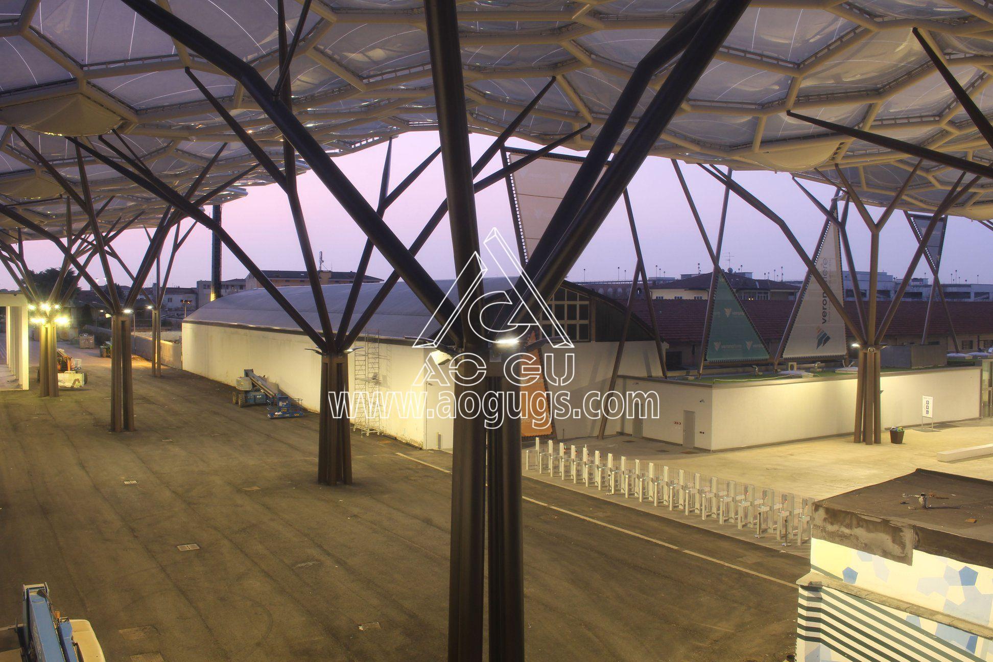 ETFE透明膜 ETFE膜工程 ETFE膜材料制作 充气膜 气枕 产品演示图1