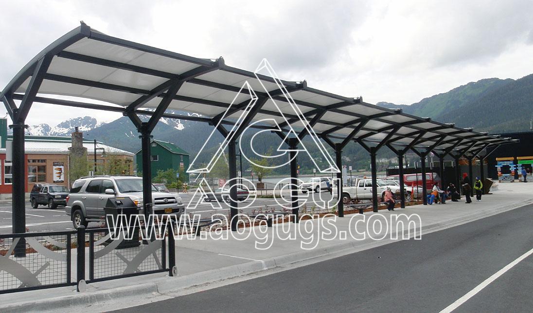 组装式汽车棚 停车棚产品演示图4