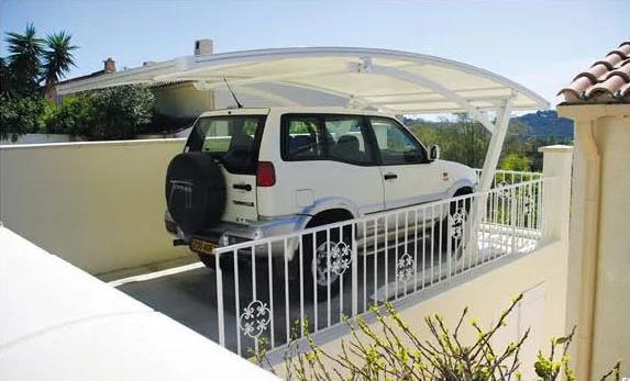 装配式车棚停车棚结构产品演示图2