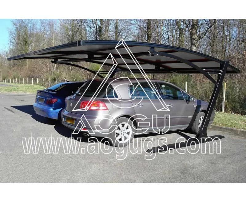 装配式车棚停车棚结构产品演示图3