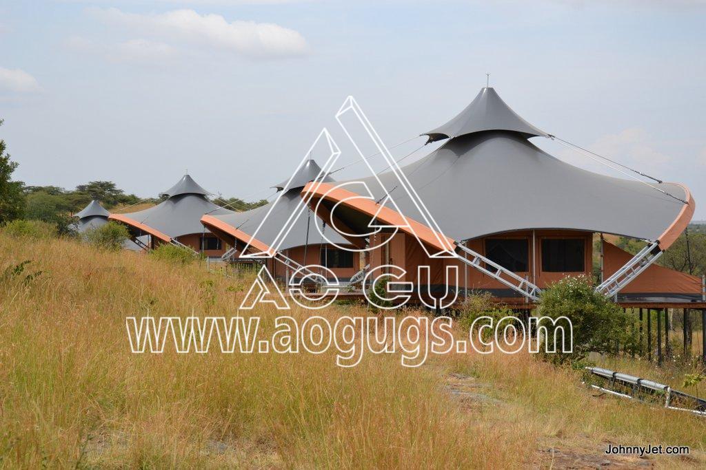 浪漫的野外露营 帐篷酒店