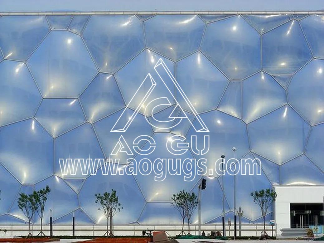 "ETFE透明膜 ETFE气枕 透光""软玻璃"""