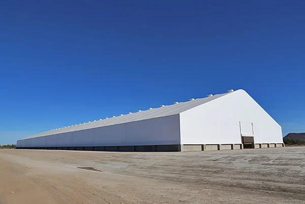 大型仓储煤棚 大跨度仓储煤棚产品演示图1