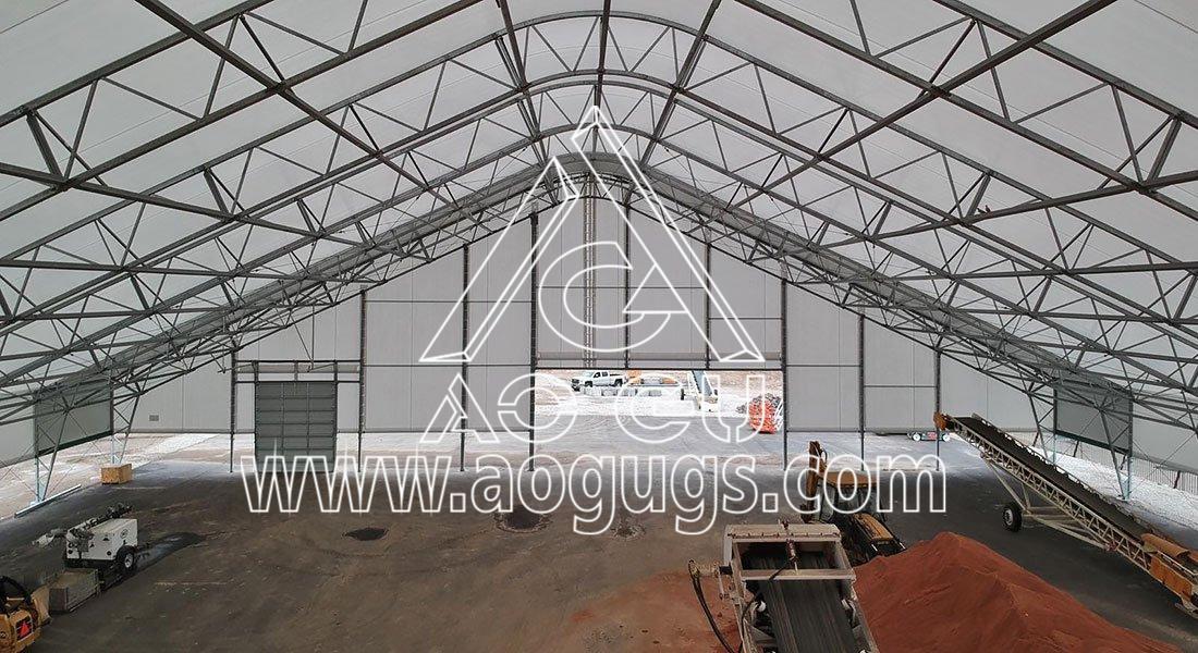 大跨度机库篷房 大型机库雨篷产品演示图2