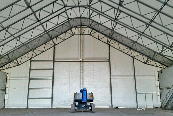 大跨度机库篷房 大型机库雨篷产品演示图3