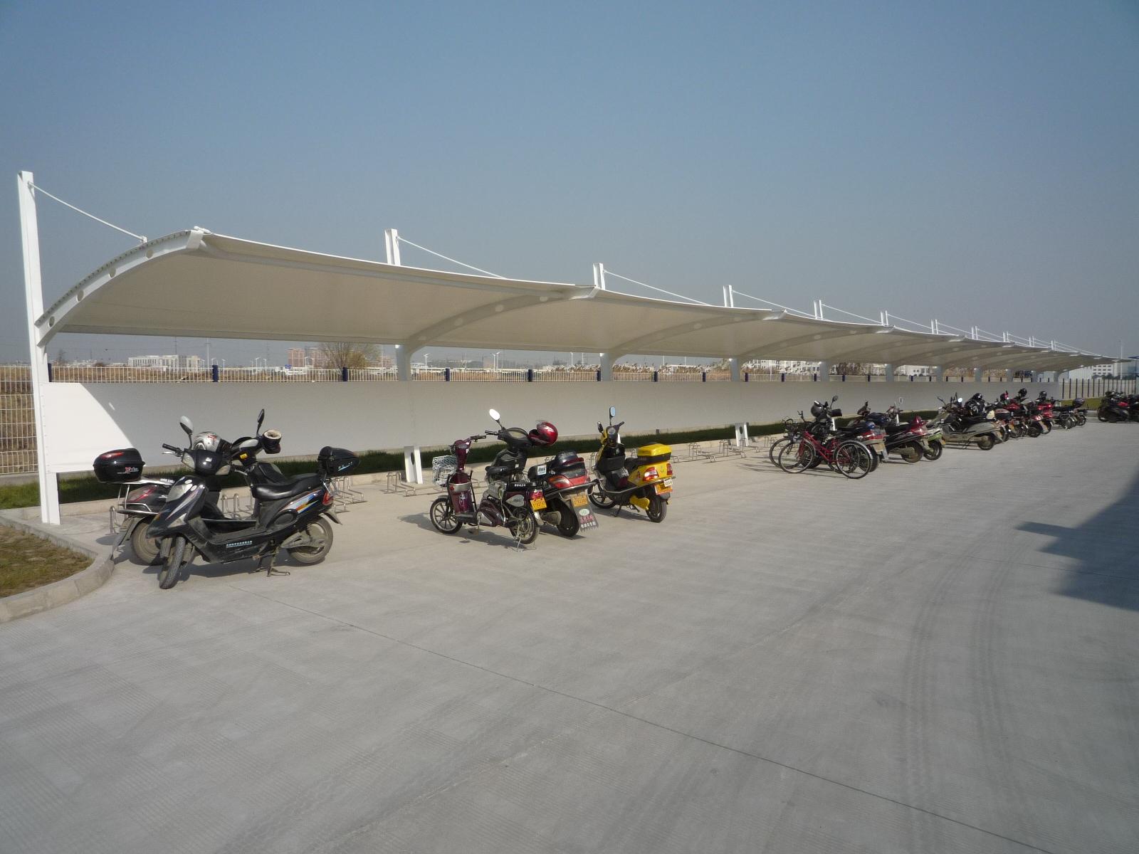 自行车车棚 自行车停车棚 生产工厂