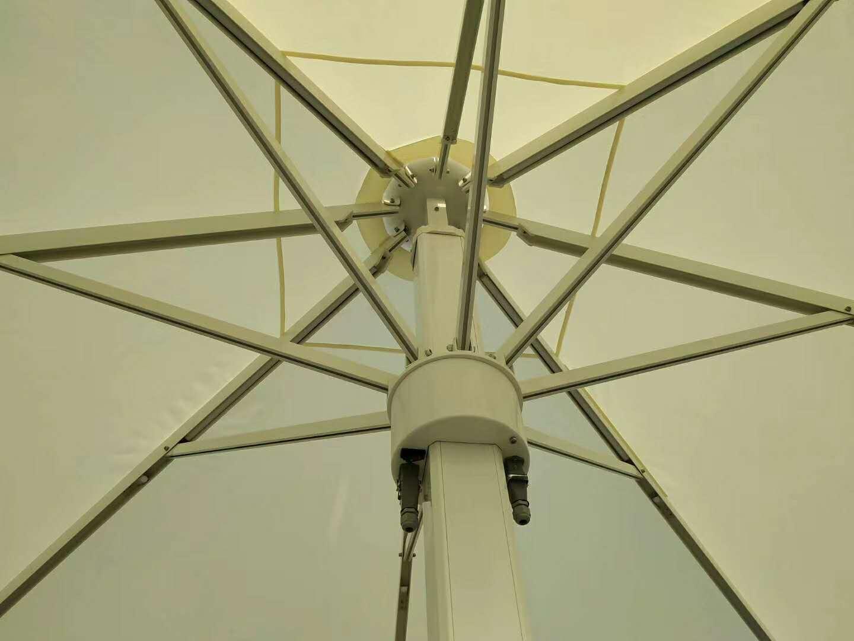 大型遮阳伞 大型抗风伞产品演示图1