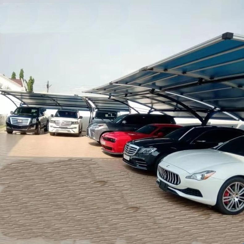 组装式汽车停车棚产品演示图4