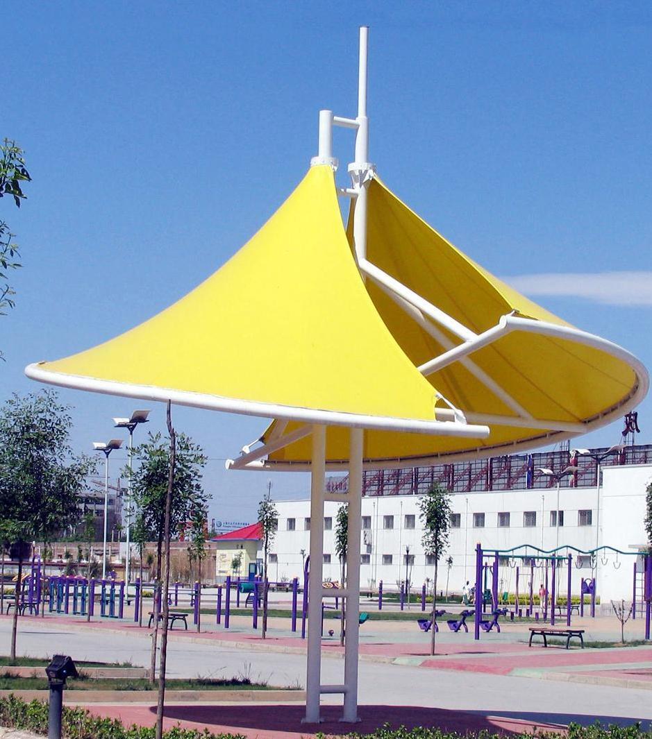 膜结构建筑伞 膜结构建筑遮阳伞