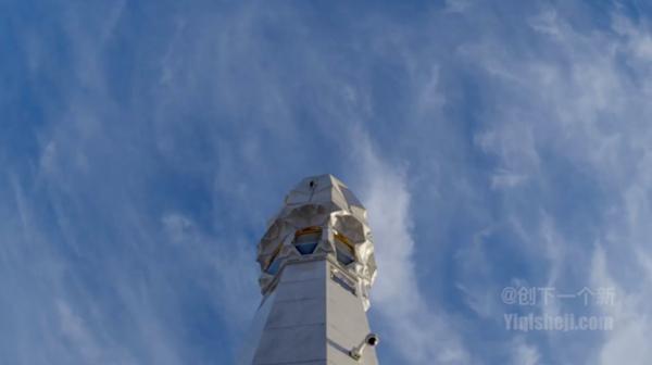 国外最大的伸缩开合式张拉膜结构建筑雨伞图片 3.jpg