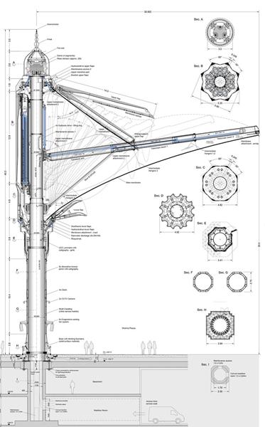 国外最大的伸缩开合式张拉膜结构建筑雨伞图片 6.jpg