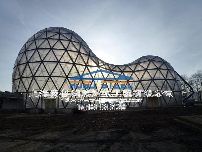 国外ETFE透明膜结构工程展示图片产品演示图1