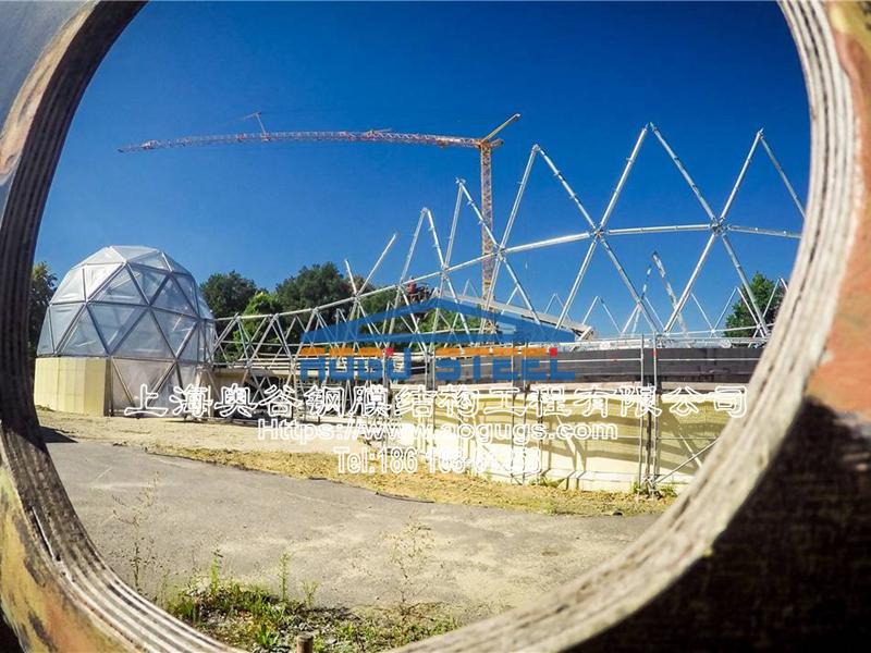 国外ETFE透明膜结构工程展示图片产品演示图4