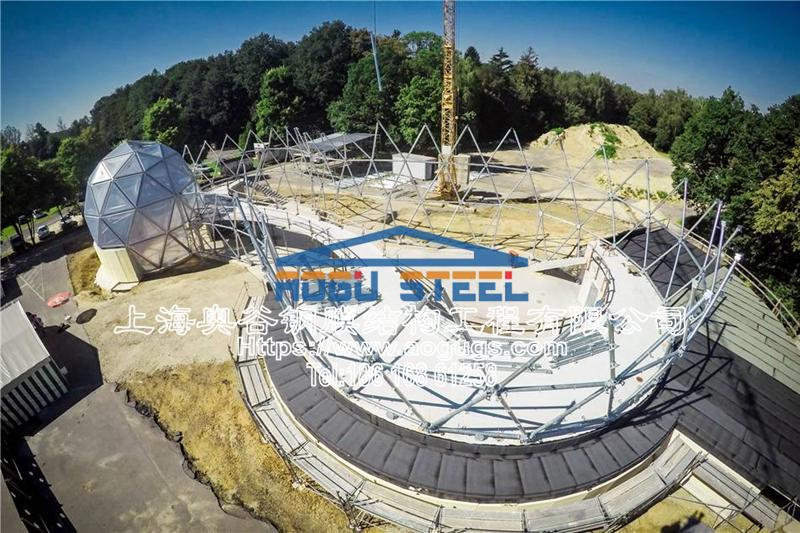 国外ETFE透明膜结构工程展示图片产品演示图3