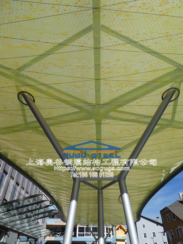 ETFE透明建筑膜材料的优点特性以及耐用性介绍产品演示图4