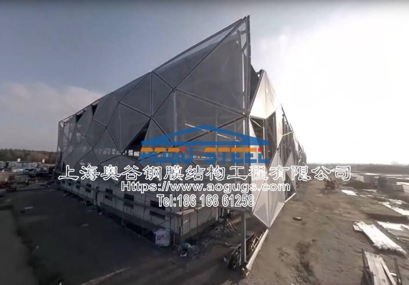 建筑外立面膜材料遮阳工程项目