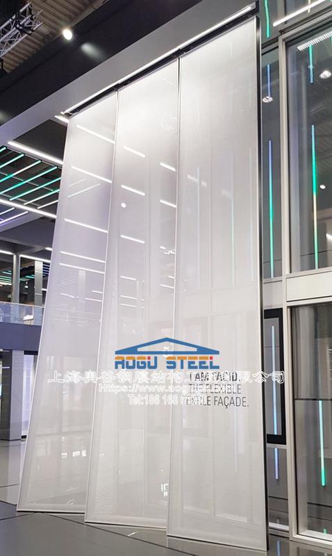 建筑外立面膜材料遮阳工程项目产品演示图3