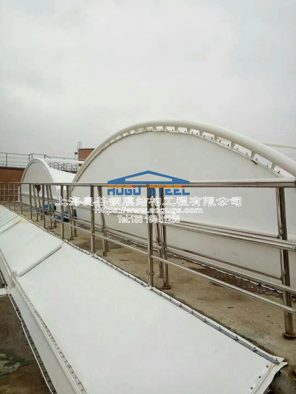 污水厂污水池加盖工程施工现场1540520816818.jpeg
