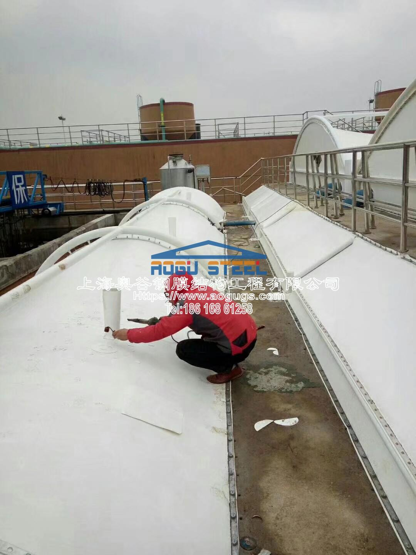 污水厂污水池加盖工程施工现场1540520834283.jpeg