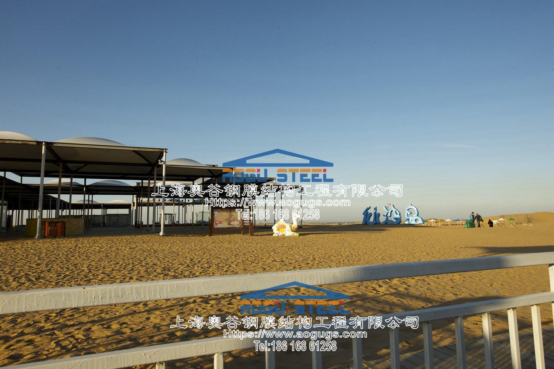 响沙湾景观张拉膜伞造型 Nipic_1430719_20121013153925879000.jpg