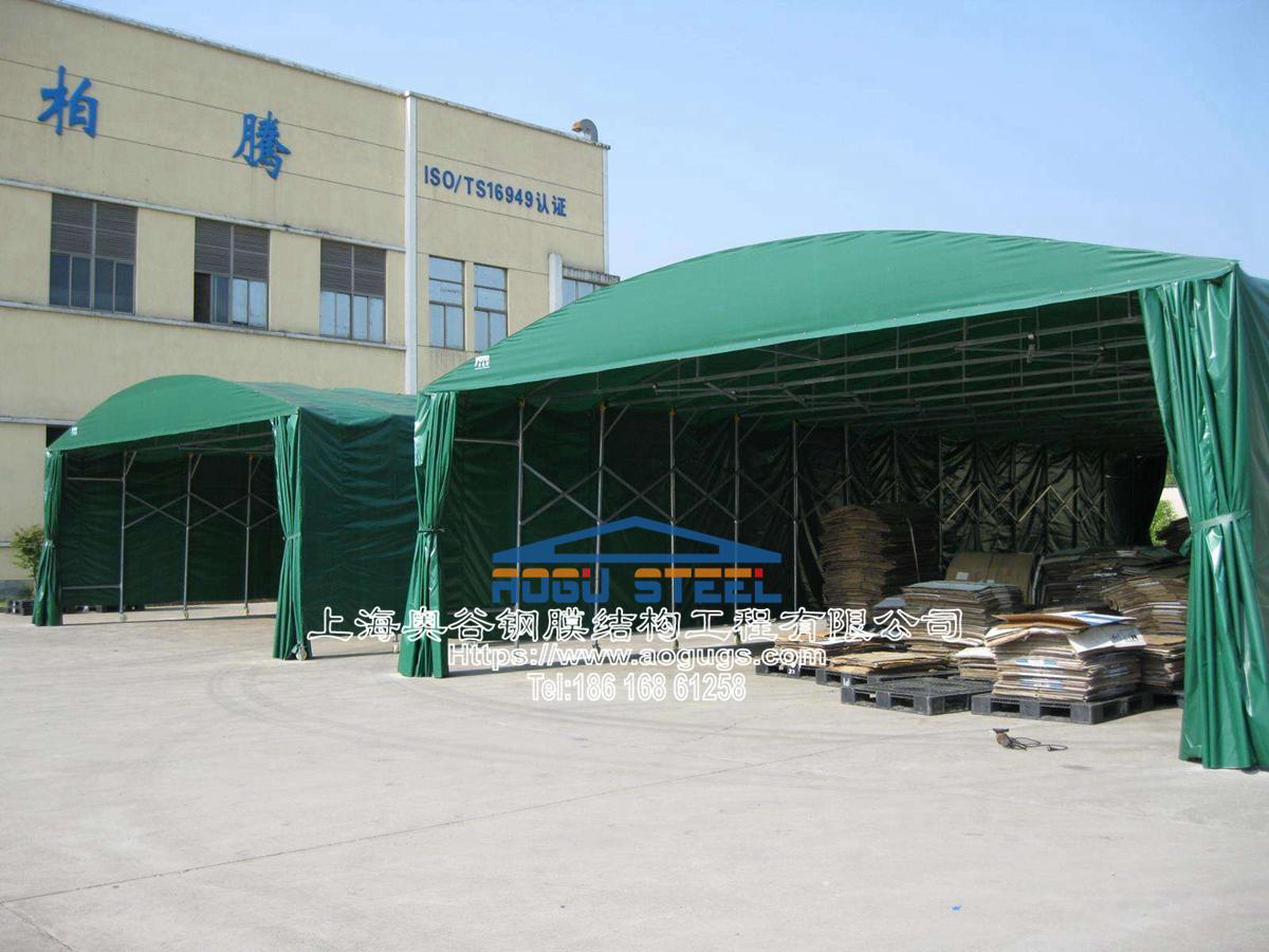 苏州厂家生产定做推拉棚雨棚