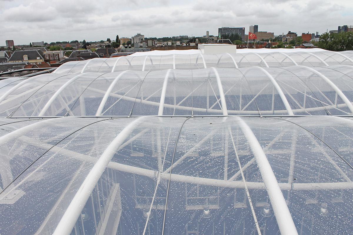 ETFE透明薄膜建筑材料-四氟乙烯共聚物透明膜