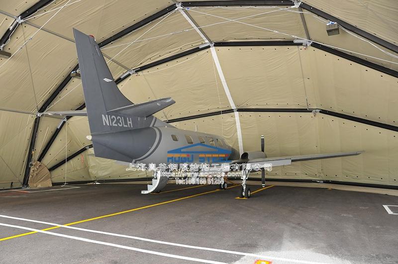 无人机 喷气式战斗机 机库 雨棚产品演示图4