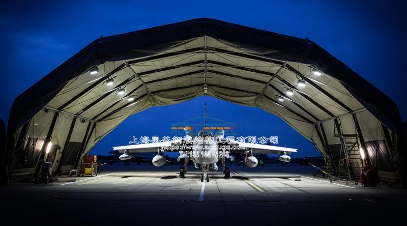 无人机 喷气式战斗机 机库 雨棚