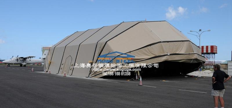 无人机 喷气式战斗机 机库 雨棚产品演示图1