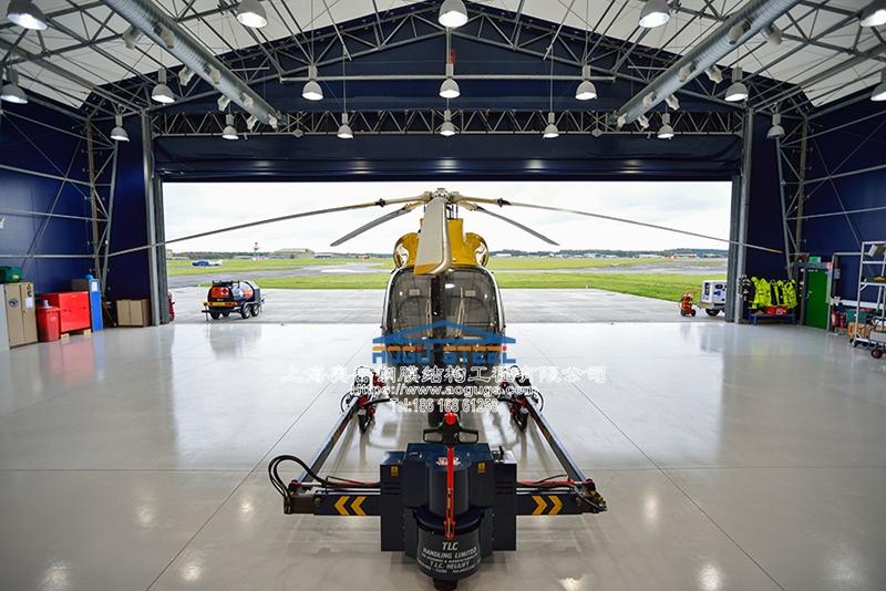 大型直升机机库 活动雨篷 机库棚罩