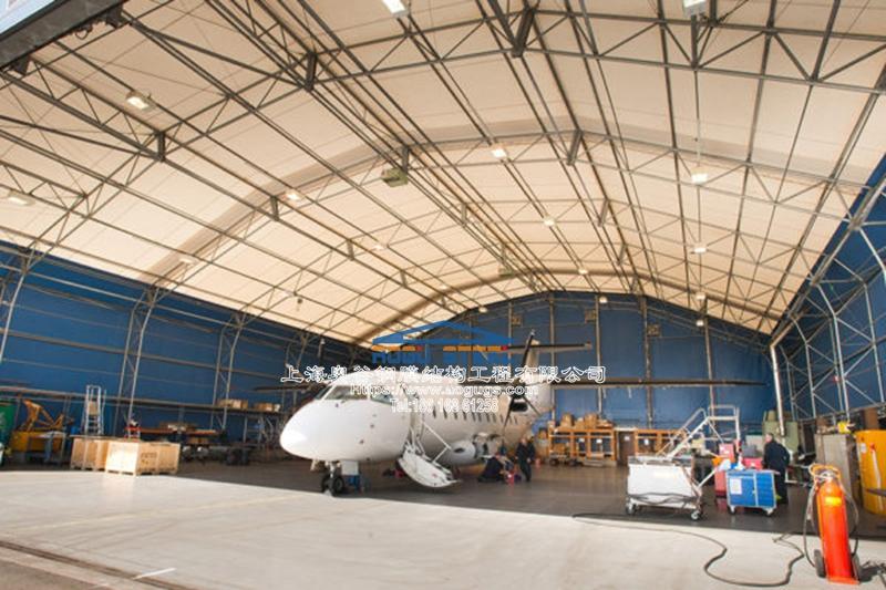 大型商务飞机机库样式款式分类
