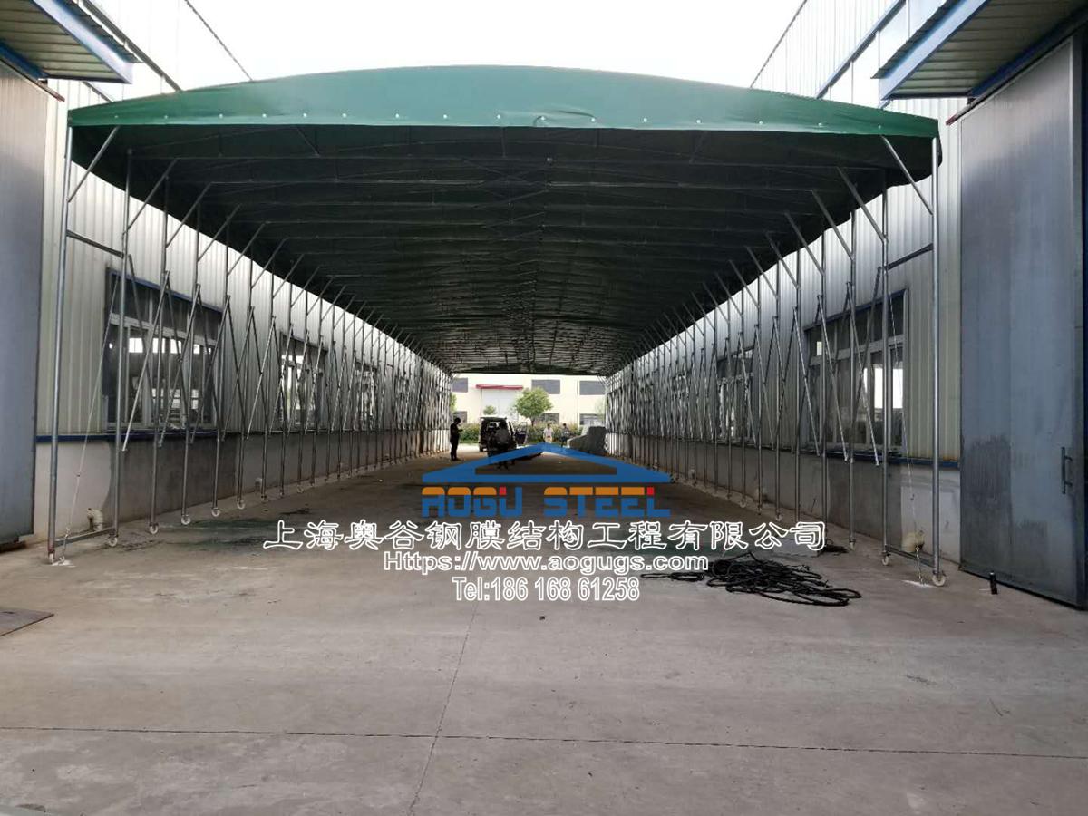 大型工厂仓储推拉雨棚003