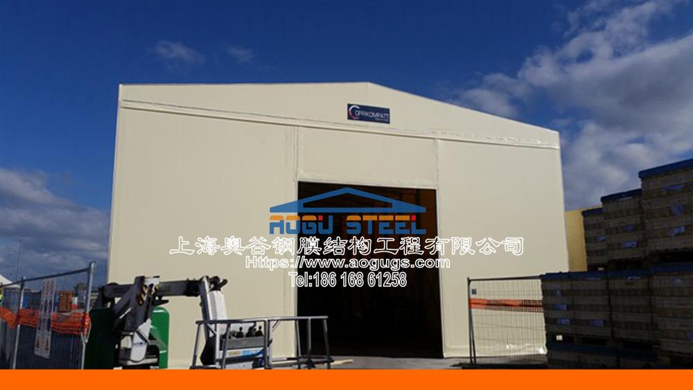 快速组装拼装式工厂临时仓储雨棚,为工厂解决一切仓储问题