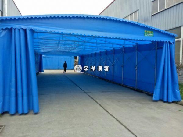 上海浦东新区临港产业园工业园仓储雨棚设计安装施工
