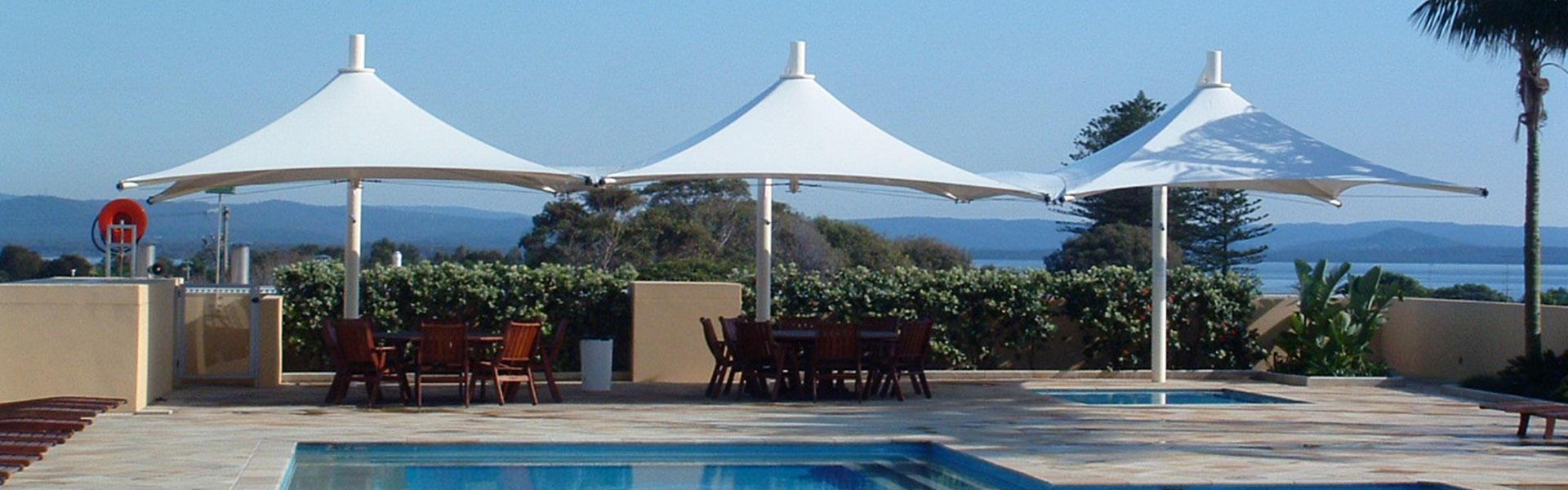 景观膜结构伞